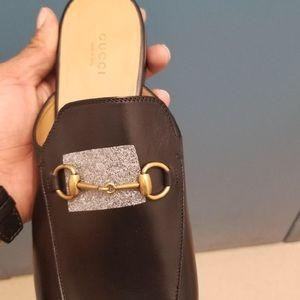 Gucci - Princeton Leather Slip on (BLACK)